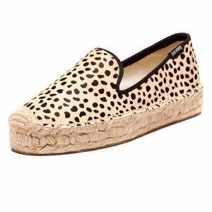 ✨NWOT Soludos Cheetah Print Calf Hair Espadrilles